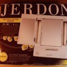 AS-IS JERDON TRI-FOLD LIGHTED MIRROR 1X & 5X MAGNIFICATION