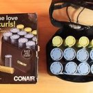 CONAIR HS28XR FOR THE LOVE OF CURLS COMPACT STYLING SETTER 12 ROLLERS