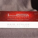 NEW HSI THE STYLER TOURMALINE IONIC FLAT IRON , 1 IN W/BONUS GLOVE, POUCH & OIL