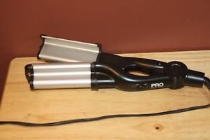PRO BEAUTY TOOLS PROFESSIONAL SPEED WAVER CRIMPER CRIMP WAVE CERAMIC STYLING