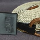 NEW GNW COMFORT SERIES BRAIDED STRETCH KHAKI BELT SIZE XL