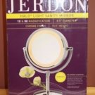 NEW JERDON HL745CO 5X MAGNIFICATION 2 SIDED HALO LIGHT XTRA OUTLET ON BASE