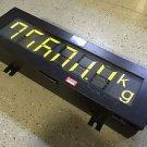 """METTLER TOLEDO 8617 SCOREBOARD 27"""" x 8.5"""" x 6"""""""