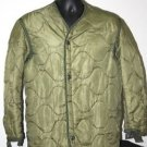 US ARMY COMBAT JACKET LINER GREEN S SMALL