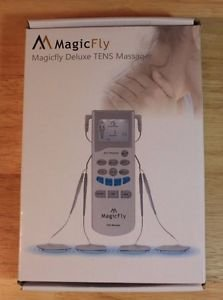 NEW MAGICFLY TENS UNIT MUSCLE STIMULATOR ELECTRONIC MASSAGE THERAPY
