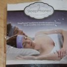 NEW SLEEPPHONES SPEAKERS EMBEDDED HEADBAND COMFORT WARM HEADPHONE COZY MUSIC