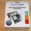 NEW OZERI CARDIO TECH PREMIUM SERIES DIGITAL BLOOD PRESSURE MONITOR W/ ARM CUFF