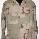 US ARMY DESERT CAMO BLOUSE SHIRT WITH PATCHES M/R MEDIUM REGULAR