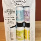 NEW J.R. WATKINS NATURALS LOTION DEVOTION KIT HAND & BODY ALOE GREEN TEA NATURAL