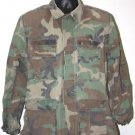 US ARMY WOODLAND CAMO BLOUSE SHIRT M/R MEDIUM REGULAR