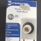 NEW INTERMATIC K4021C 120V FIXED POSITION PHOTO CONTROL FLUSH MOUNT