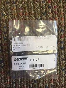 NEW MORSE 35 C/L S/C S/F 114127 MORSE MFG INC LINK CONNECTOR CC-19-D-02C
