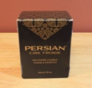 NEW 2 OZ PERSIAN COLD WAX WASHABLE HAIR REMOVER FACE AND BROW FREE SHIPPING