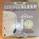 NEW MARPAC DOHM SERIOUS SLEEP WHITE NOISE MACHINE - WHITE NATURAL SLEEP EASIER