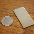 "2"" x 1"" x 1/8"" Nickel Coated Neodymium Earth Magnet N52 Block Square Magnets"