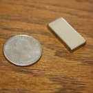 "1""x1/2""x1/8"" Nickel Coated Neodymium Earth Magnet N52 Block Square Magnets"