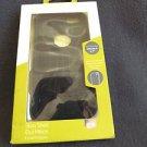 "NEW SPIGEN PURE GEAR SLIM SHELL FOR IPHONE 6 4.7"" BLACK FLEXIBLE RUBBER"