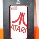 NEW ATARI IPHONE 5 RIGID PLASTIC PHONE CASE WHITE AND RED