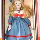 NEW COLLECTIBLE SOFT EXPRESSIONS GENUINE FINE BISQUE PORCELAIN DOLL
