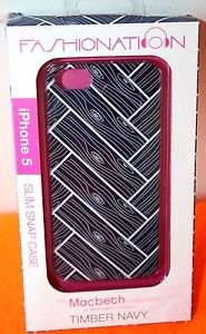NEW FASHIONATION MACBETH COLLECTION BY MARGARET JOSEPHS IPHONE 5 PHONE CASE