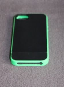 NEW INCASE CELL PHONE PRO SLIDER CASE FOR IPHONE 5 BLACK / GREEN FREE SHIPPING