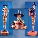 Jim Shore Heartwood Creek Pilgrim Harvest Figurine