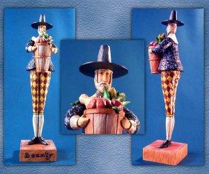 Jim Shore Heartwood Creek Pilgrim Harvest Figurine