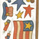 Provo Craft 4th of July Watercolor Stickers