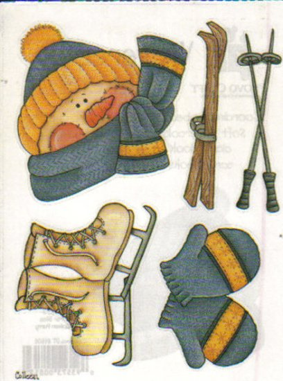 Provo Craft Watercolor Stickers Winter Bilss