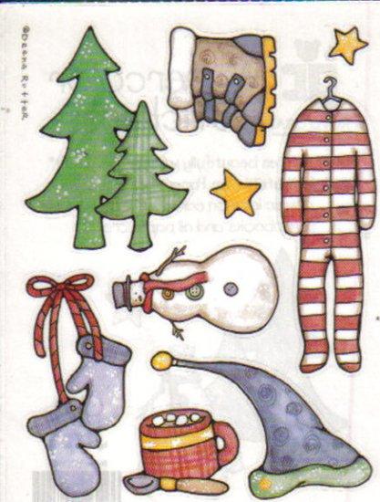 Provo Craft Watercolor Stickers Winter