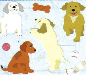 Mrs Grossman's Stickers Puppies