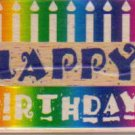 Stamp Craft Happy Birthday Rubber Stamp