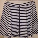 Women's NWT American Eagle Skirt, Size Medium, Black And White Striped