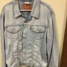 Men's Xl Light wash Vintage Levis Strauss Jean Jacket