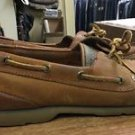SPERRY Top-Sider Boat Shoes 0194621 Defender 2-Eye Brown Leather Men's Sz 11