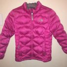 Girls Size 10/12 Medium The North Face Pink 550 Winter Coat