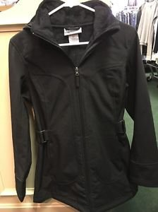 Women's Small Black Authentic Lifestyle Free County Coat Long Parka Jacket