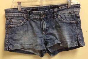 Women Size 8 Stella X2 Express Medium Wash Jeans Shorts
