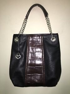 Nwot Brighton Black Soft Leather Hobo Purse Handbag RP $380