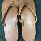 new Rainbow Leather 302 ALTS N Women's L 7.5-8.5 Thin Strap Sandals