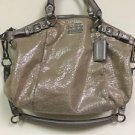 Nwt Coach Madison Embossed Metallic Leather Sophia Convertible Handbag #18931