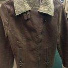 Love Stitch Women's Brown Zip Up Coat. Size Medium. NWT