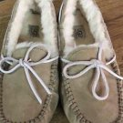 UGG Dakota Tabacco Women's Moccasins Slippers Shoes Sz 8