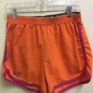 Women's Under Armour Medium Athletic Shorts Orange