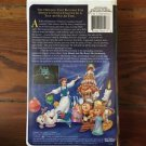 "Rare Disney - Beauty and the Beast ""The Enchanted Christmas"" VHS"