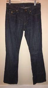 Women's Size 28 Nwot Ralph Lauren Sport Dark Wash Jeans Boot Cut