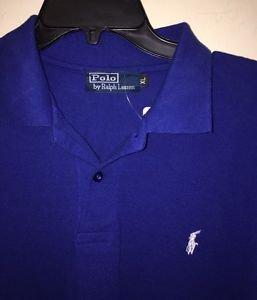 Men's Xl Blue Polo By Ralph Lauren Short Sleeve Polo Shirt