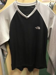 The North Face Black And Gray Long Sleeve Shirt. Size Large