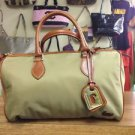 Dooney & Bourke Classic Satchel - Nylon - Khaki - excellent!