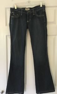 Women's Size 4 Frankie B Dark Wash BootCut Jeans New Without Tags 100% Cotton